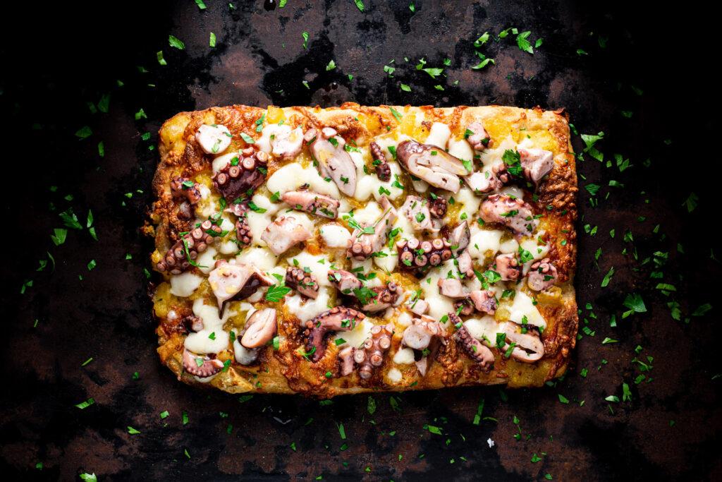 Pizza Polpo e Patate Porta1918